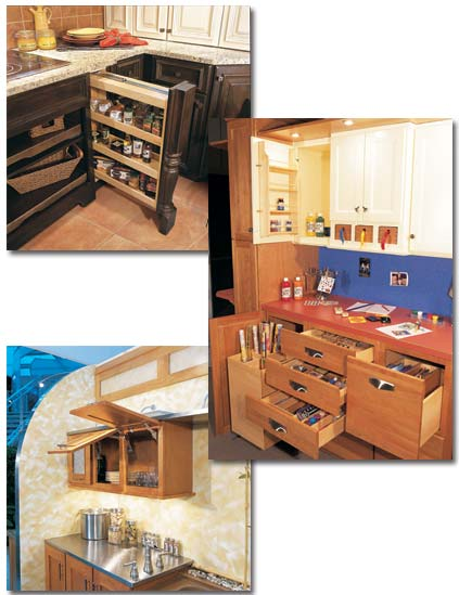 Functional Uses for Cabinetry